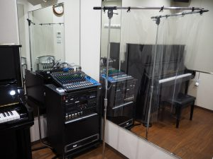 コロナ対策スタジオ